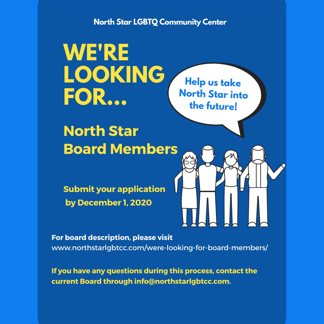 Interested in Joining our Board!
